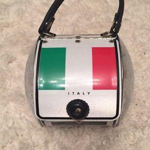 RARE ~ Little Earth ITALY License Plate Purse
